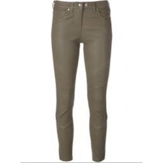 IRO spodnie skóra naturalna, nowe 38
