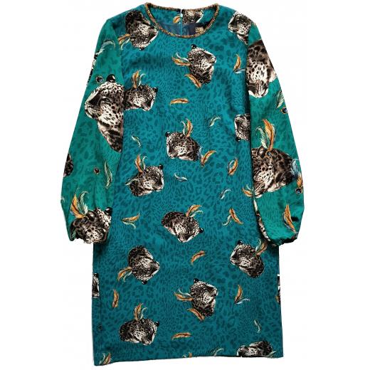 Cavalli Class sukienka leopard print