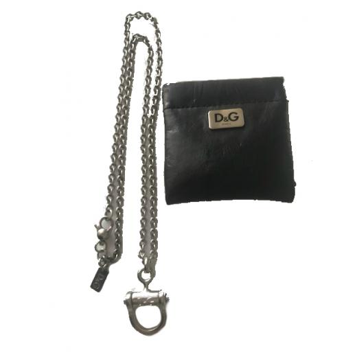 D&G damski łańcuszk z zawieszką