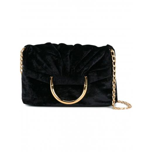 STELLA MCCARTNEY Nina velvet shoulder bag, nowa