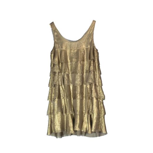 Michael  Kors złota sukienka M