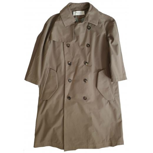 MARNI płaszcz Double breasted pea coat 36/38