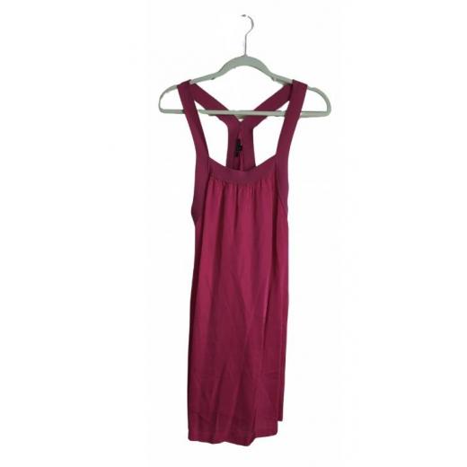 Fuksjowy letnia sukienka Theory