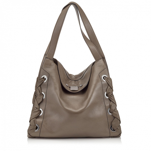 Jimmy Choo Totes RION Mink Grainy Soft Leather