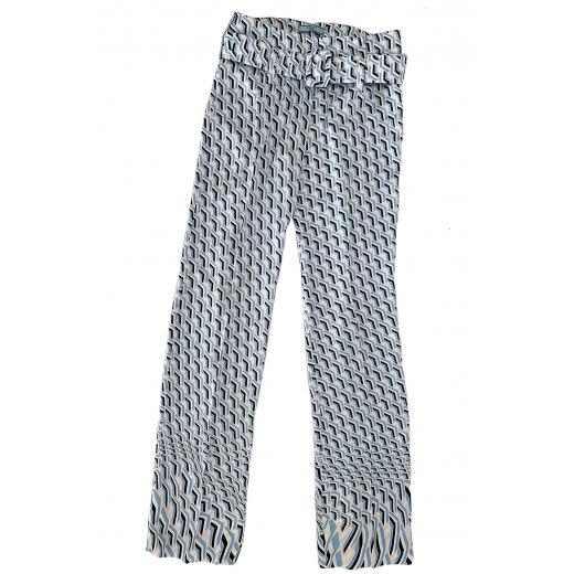 PRADA – spodnie satin twist