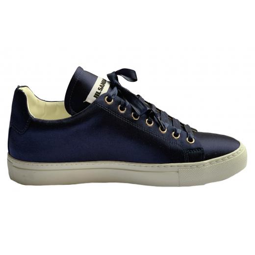 JIL SANDER – sneakers w granatowym kolorze