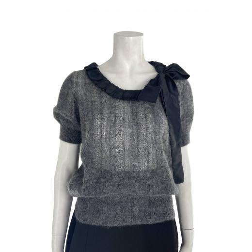 Moherowy sweter