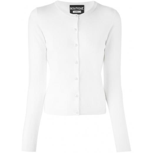 Boutique Moschino biały kardigan, nowy 36