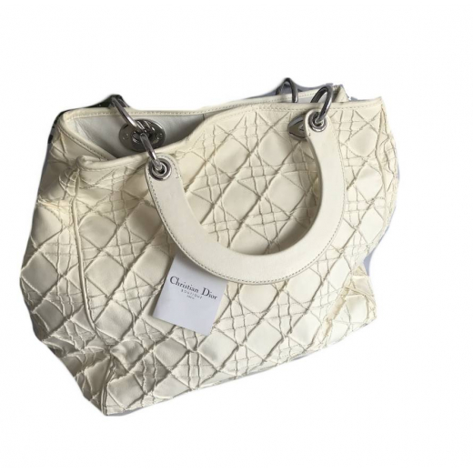 "Torebka Dior ""Lady Dior"" vanilla leather pattern canage"