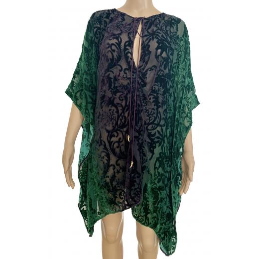 Mini sukienka -kaftan