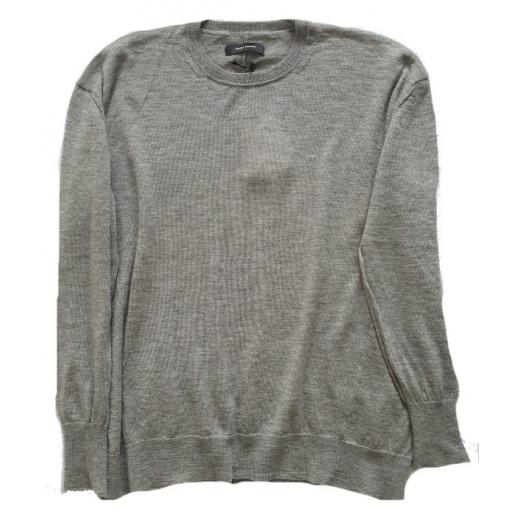 Isabel Marant sweter kaszmir-jedwab oversize, nowy