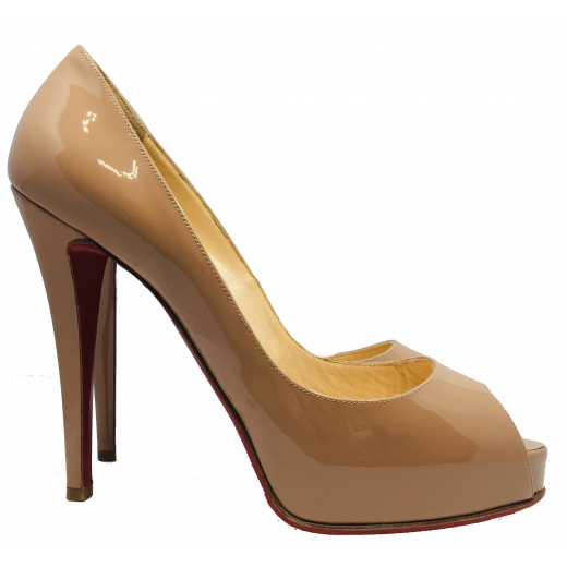Szpilki Louboutin Very Privee nude 120mm