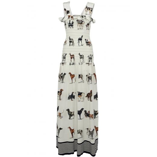 STELLA MCCARTNEY sukienka jedwab maxi nowa 34/36