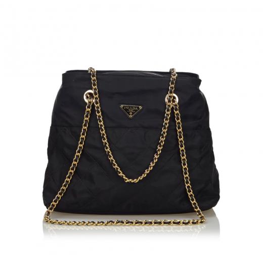 Prada Nylon Chain Bag vintage torebka
