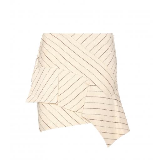 ISABEL MARANT spódnica Kimura linen and wool S-M