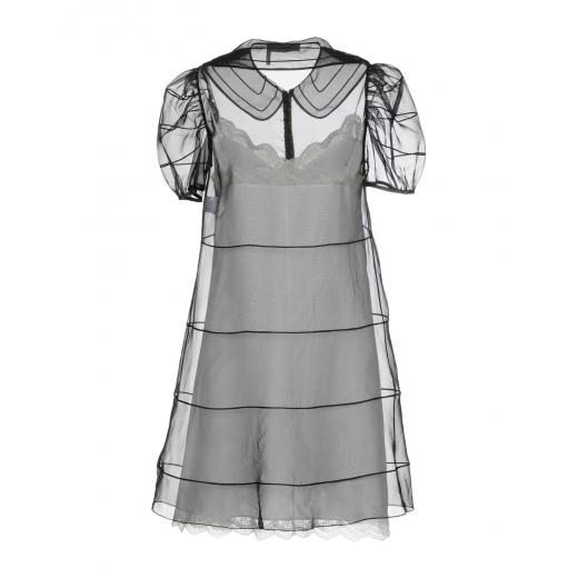 Chloé sukienka jedwabna organza, nowa XS
