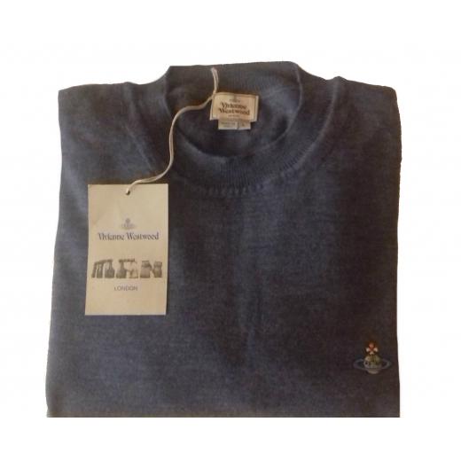 knitted crewneck jumper