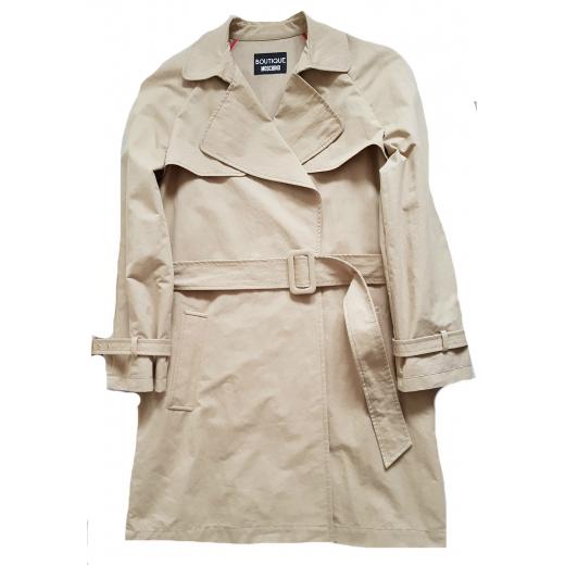 Boutique Moschino płaszcz, gabardyna, nowy