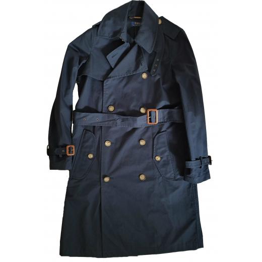 Polo Ralph Lauren płaszcz, bawełna, granatowy 36