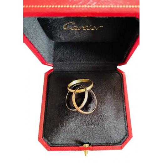 Pierścionek złoty Cartier