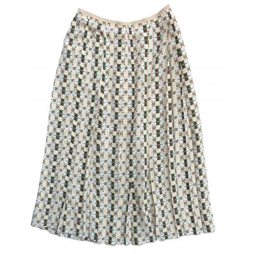 Spódnica midi plisowana Guccissima