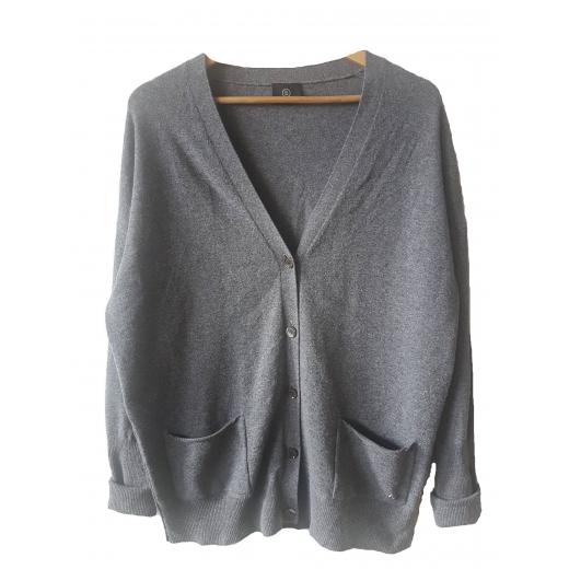BOGNER sweter virgin wool cashmere luźny fason