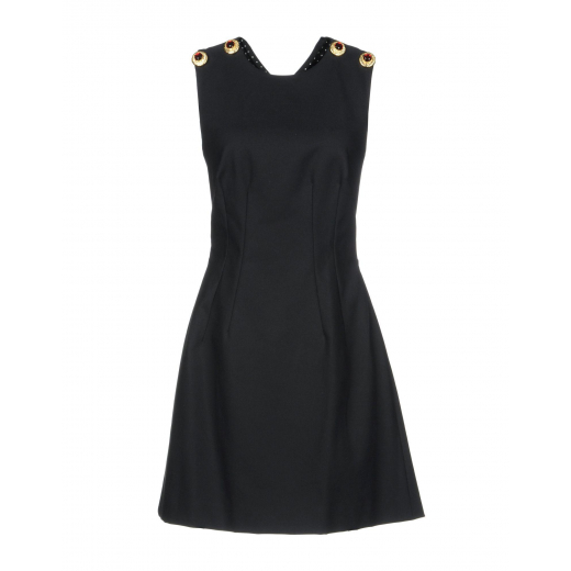 Dolce & Gabbana Black Short Dress, nowa