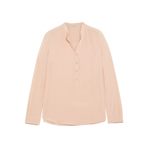 Stella McCartney bluz Eva silk crepe de chine xs-s