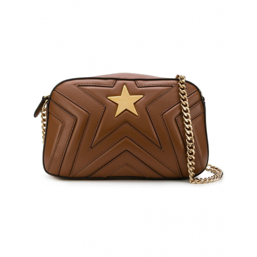STELLA MC CARTNEY SMALL STELLA STAR SHOULDER BAG