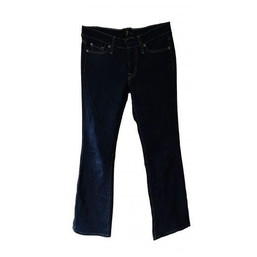 Spodnie dzwony jeansy Bootcut 7 FOR ALL MANKIND 36 S 27