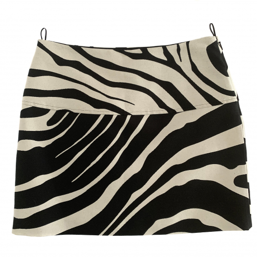Mini spódniczka zebra