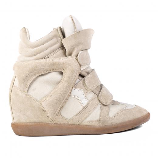 Sneakersy na koturnie Isabel Marant