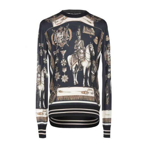 Dolce & Gabbana sweter kaszmir nowy