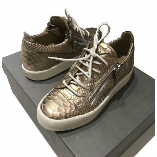 Sneakersy Giuseppe Zanotti rose gold
