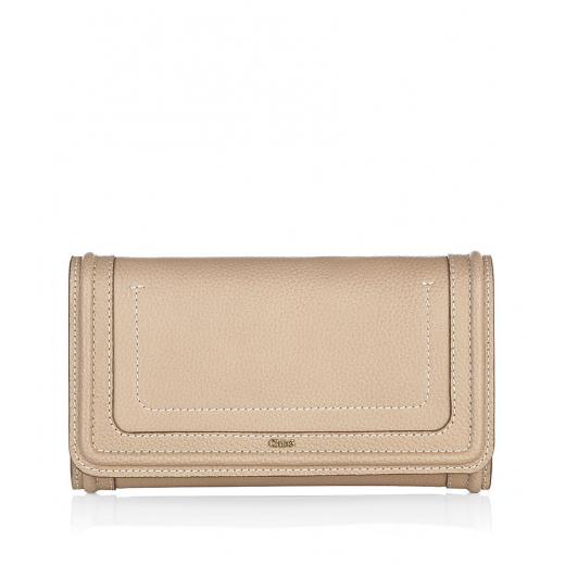 Chloe Gold Paraty Continental Wallet