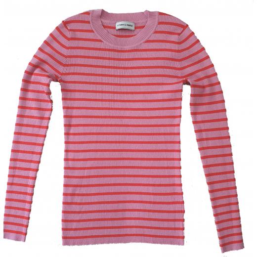 Storm & Marie sweterek różowo-czerwony XS-M